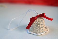 Dekorácie - Vianočná ozdoba Zvonček - 3378584
