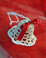 Dekorácie - Vianočná ozdoba Zvonček - 3378585