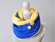 - ovečka modro-žltá SKLADOM - 3381629