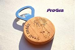 Otvárač na fľaše (magnetka) s Vašim nápisom