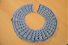 Náhrdelníky - Háčkovaný náhrdelník - 3382404