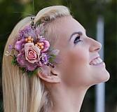 Ozdoby do vlasov - Vintage Pink by Hogo Fogo - 3386450