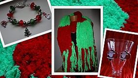 Šály - Vianočná 3-kombinácia :) - 3386765