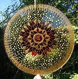Dekorácie - Mandala plná jasu a ľahkosti - 3389541