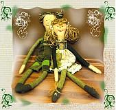 Bábiky - PÁRIK PRED SVADBOU-na objednávku - 33916