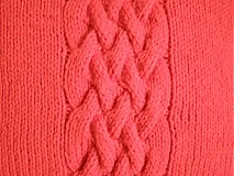 Úžitkový textil - pletené vankúše - 3397914