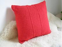 Úžitkový textil - pletené vankúše - 3397916