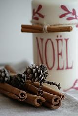 Svietidlá a sviečky - Sviečka NOEL - 3399726