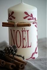 Svietidlá a sviečky - Sviečka NOEL - 3399728