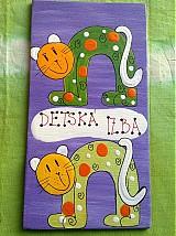 Tabuľky - menovka na dvere -DETSKÁ IZBA - 340040