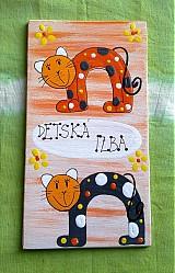 Tabuľky - menovka na dvere -DETSKÁ IZBA - 340066