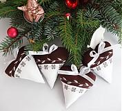 Dekorácie - srdiečka - Horká čokoláda + šlahačka - 3405785