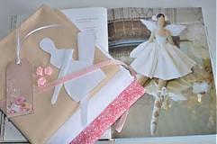- Kompletný balík na výrobu malého anjelika. - 3406486
