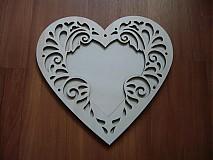 Rámiky - Srdce 11x11 ornament - rámik - 3417660