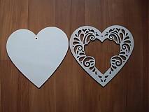 Rámiky - Srdce 11x11 ornament - rámik - 3417672