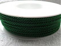 - Šnúra točená 2,5mm-1m (zelená) - 3421871