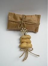 Dekorácie - Bio visačky na darčeky - 3428781