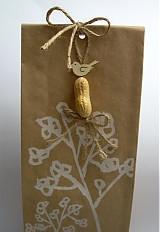 Dekorácie - Bio visačky na darčeky - 3428786