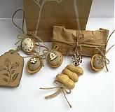Dekorácie - Bio visačky na darčeky - 3428788
