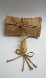 Dekorácie - Bio visačky na darčeky - 3428793