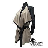Kabáty - Cardigan z pevnejšieho úpletu v rôznych farbách - 3434245