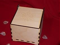 Dekorácie - Krabička na vianočné ozdoby - 3434637