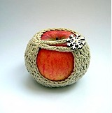 Drobnosti - Bio obal na jabĺčko - 3448155
