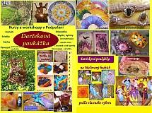 Kurzy - Darčeková poukážka na tvorivé kurzy v Podpoľaní - 3448726