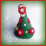 Dekorácie - Výpredaj - 3D FIMO vianočné stromčeky - 3458708