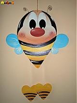 Dekorácia na zavesenie - včielka