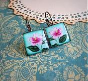 Náušnice - Kvetinka - 3461404