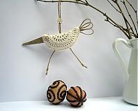 Dekorácie - Bio vtáčiky s veľkými zobáčikmi - 3475854