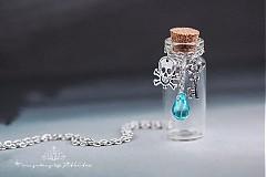 Náhrdelníky - lahvička na drobnosti n na mléčné zoubky - 3485509