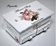 Krabičky - Flower shop roses - 3486411