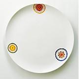 Dekorácie - tanier servírovací kvet - 3487122