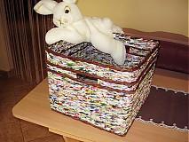 Košíky - Letáčik - košík nie len na hračky  - 3491450