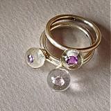 Prstene - svetelka. - 3494490