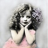 - Vintage kolekcia - dievčatko - 3495918