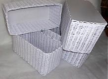 Košíky - Biela :) - 3509265