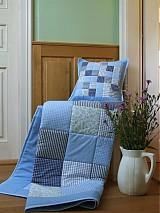 patchwork deka 140x200 alebo 220x220 a vankúš za super cenu
