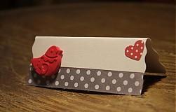 Papiernictvo - Svadobné menovky - 3516157