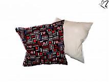 Úžitkový textil - _dekoratívny vankúšik - I LOVE LONDON 45x45cm II. - 3519742
