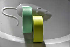 Papier - washi paska zelena 10m - 3522508