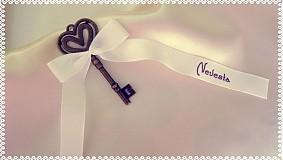 Papiernictvo - Svadobné menovky - 3523471