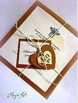 """Papiernictvo - Svadobné oznámenie """"Vintage love"""" - 3527988"""