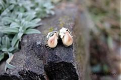Náušnice - Zlaté grandlové náušnice - 3528138