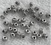 Korálky - Kov.vrúbkované-3mm-1ks - 3530082