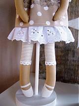 Bábiky - Béžový anjel so srdiečkom - 3531003