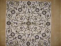 Papier - čiernobiely ornament - 3536567
