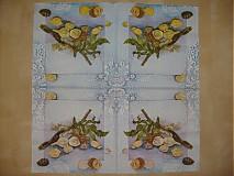 Papier - morské mušle - 3536580